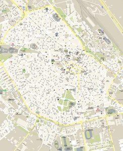 Albacete mapa vectorial illustrator eps