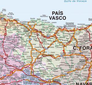 Mapas Vectoriales Illustrator Eps Freehand Pdf Espana