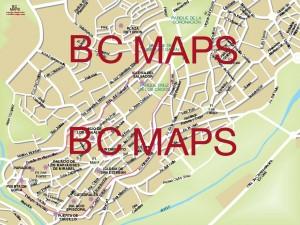 Plasencia mapa vectorial illustrator eps