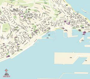 mapa vectorial illustrator eps Las Palmas