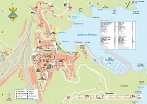 Mapa de Portbou, Alt Empordà, Girona