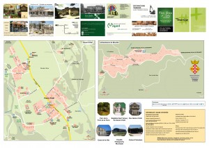 Mapa turistico Canet d'Adri, Girones