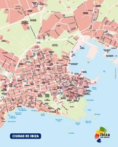 Eivissa Ibiza mapa vectorial illustrator eps Patronat