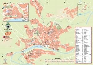 Mapa Súria Casc Urba i Cas Antic