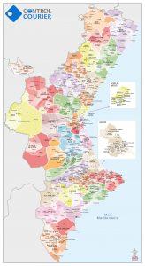 Bc Maps municipios Valencia