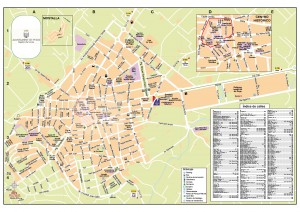 Plano turistico urbano Pego 2014