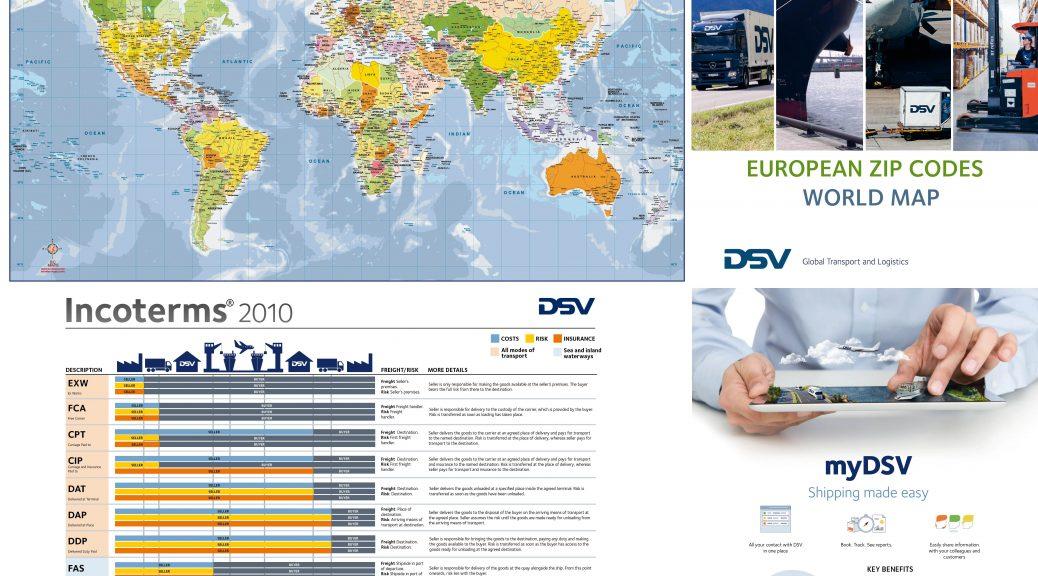DSV 2021 Lithuania world map