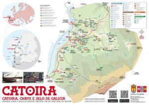Mapa Casco urbano Catoira