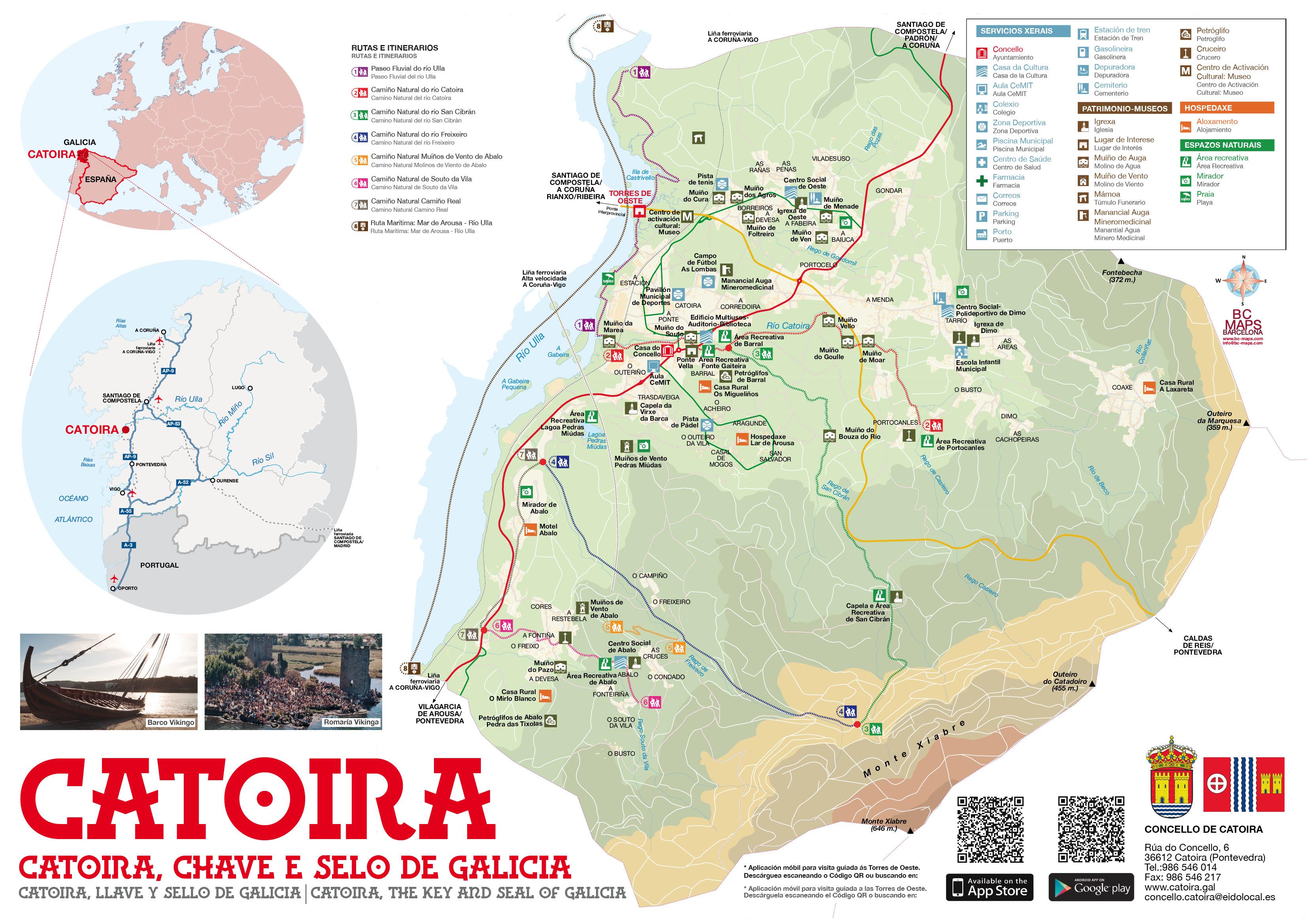 Mapa Concello Catoira