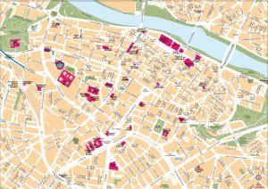 Zaragoza mapa vectorial illustrator eps Rolex