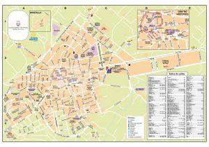 Mapa turístico de Pego 2016