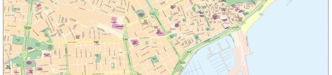 Bc Maps mapa vectorial eps