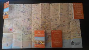 Mapa plegado tarjeta Congreso del Inta Barcelona 2017