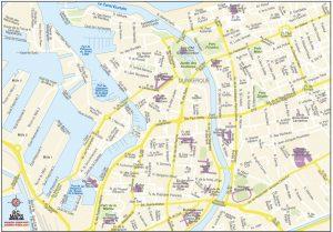 mapa vectorial Dunkerque illustrator eps