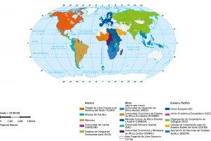 Planisferio de Tratados Comerciales