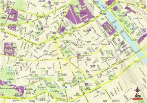 Paris Paul Bourget carte vectoriel illustrator eps