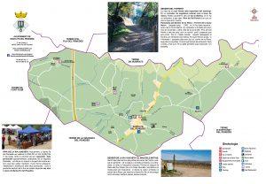 Santa Fe del Penedes 2018 Mapa municipi