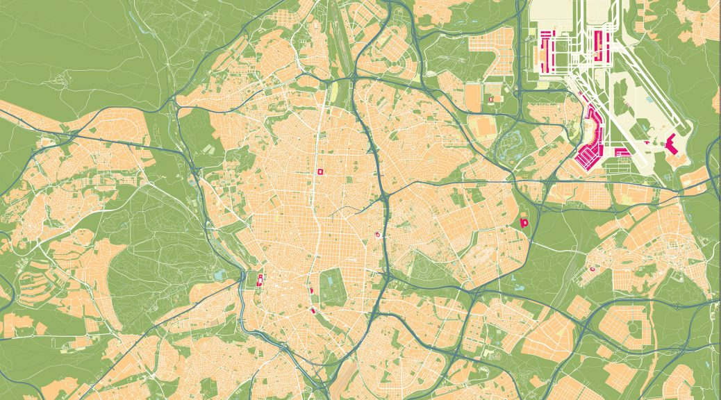 Mapa Madrid Castellana Norte