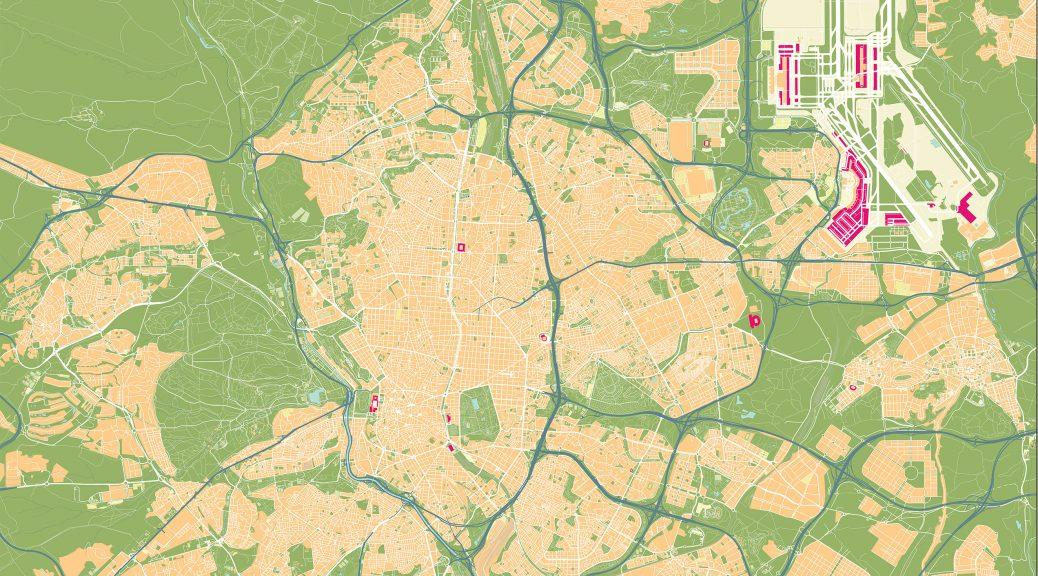 Mapa Madrid Castellana Norte
