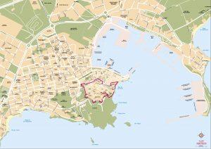 Eivissa Ibiza mapa vectorial illustrator eps Rolex