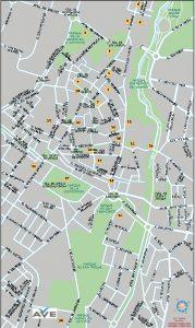 Guadalajara mapa vectorial illustrator eps Ave