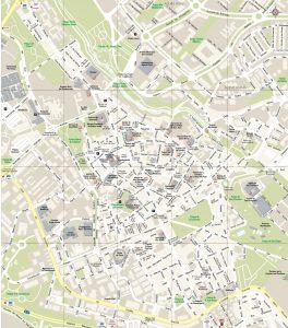 Guadalajara mapa vectorial illustrator eps CCMM