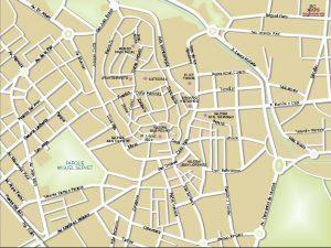 Huesca mapa vectorial illustrator eps centro