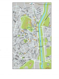 Lleida mapa vectorial illustrator eps Ave