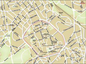 Lugo mapa vectorial illustrator eps centro