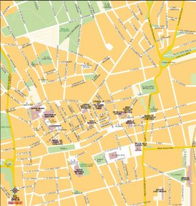 Figueres mapa vectorial illustrator eps