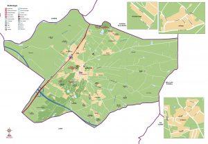 mapa Ajuntament d'Alcoletge municipi