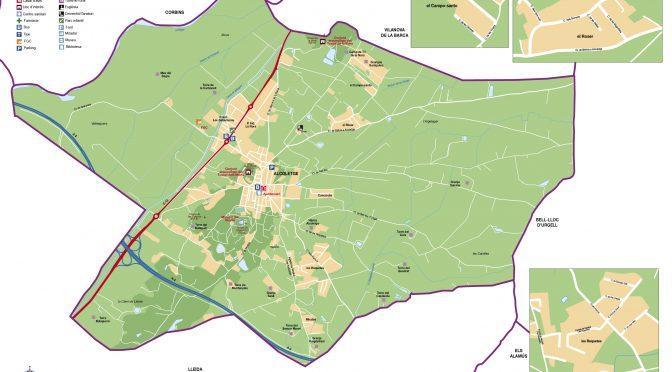mapa Ajuntament Alcoletge municipi