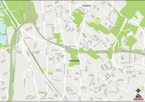 Toulouse carte vectorielle illustrator eps Pichet 2021